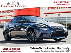 2015 Lexus IS 350 F-SPORT | LOW KM | ALL WHEEL DRIVE