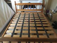 Double bed frame - SOLD pending collection