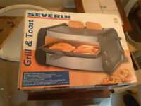 SEVERIN GRILL AND TOASTER BNIB