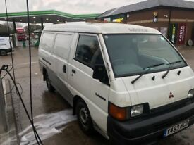 Mitsubishi L300 lwb floor gear diesel in good condtion runs and drives good