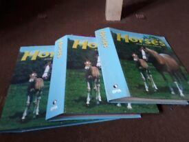 I love horses and horse riding complete magazine set