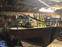 Mirror dinghy 85% finished