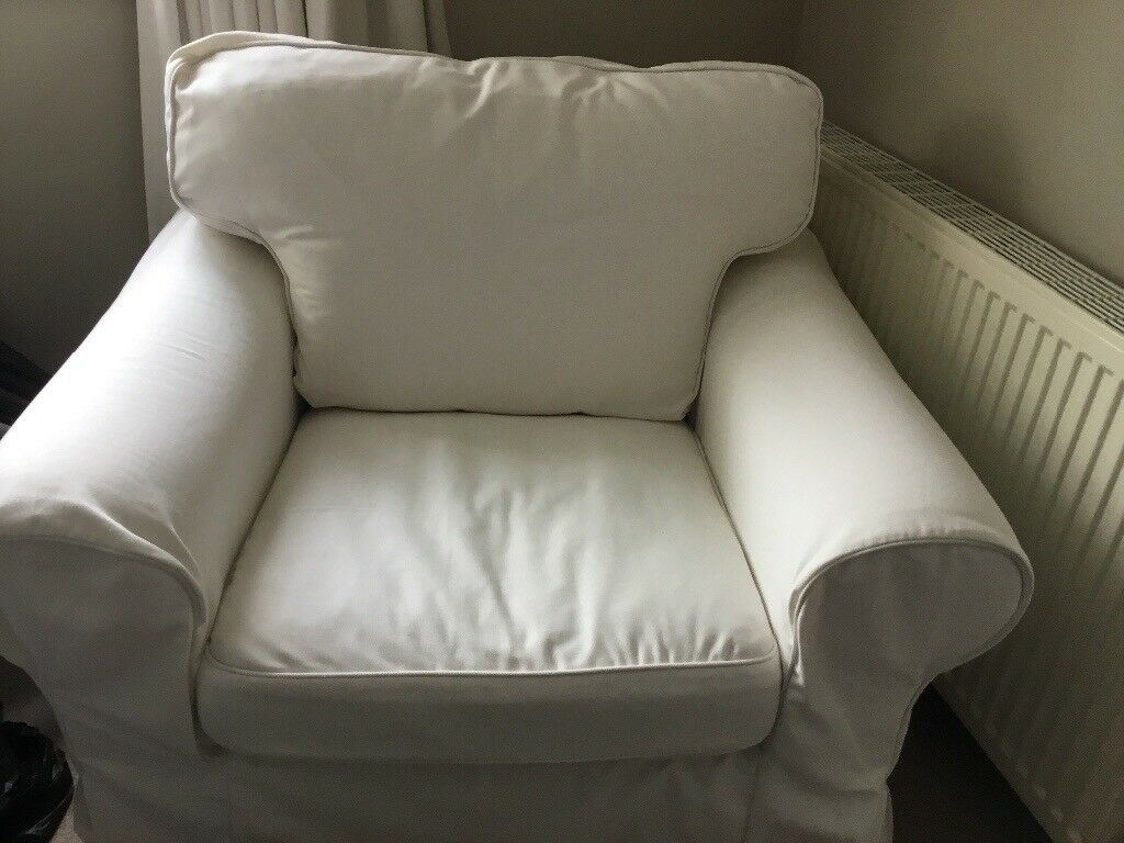 Wonderfully Comfortable Ektorp Ikea Armchair In Troon South Ayrshire Gumtree