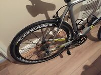 Boardman carbon full road bike