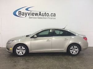 2014 Chevrolet CRUZE LT- TURBO! REM START! A/C! ON STAR! CRUISE!