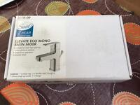 Basin mixer tap with pop-up waste, brand new