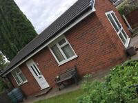 1 bed bungalow to let