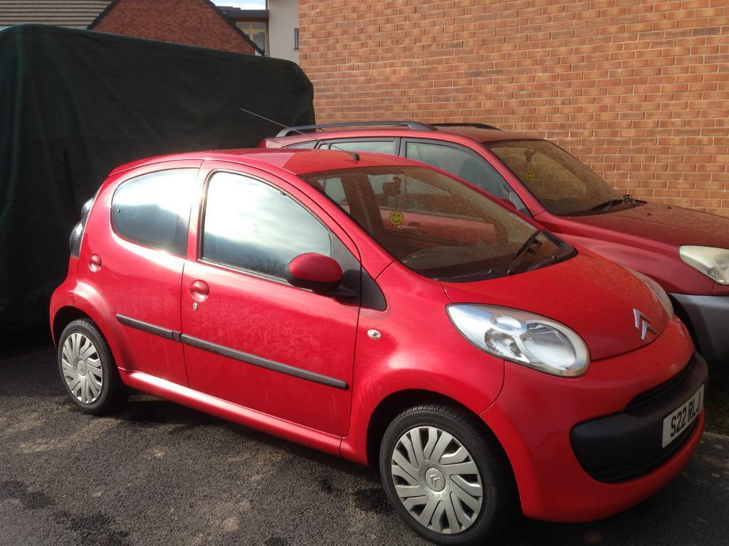 citroen c1 hdi rhythm red diesel 58 reg immaculate. Black Bedroom Furniture Sets. Home Design Ideas