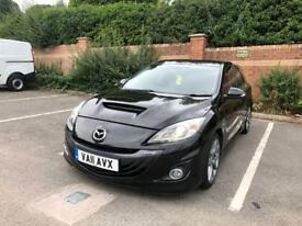 2011 MAZDA 3 MPS 12 MONTHS MOT LOW MILES (45K) MINT RUNNER FULLY LOADED PX WELCOME