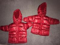 Baby boy coat Both £5