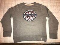 XL gray jumper