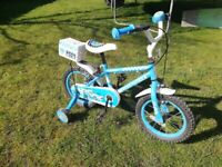 Halfords Police Patrol kids bike for 4-6years