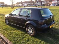 VW GOLF 1,6 AUTOMATIC, LOW MILEAGE, FULL YEAR MOT, PRIVATE NUMBER PLATE