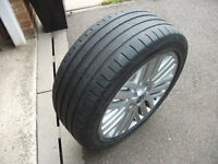 """MONDEO MK 4 17"""" ALLOY WHEEL WITH LEGAL GOODYEAR TYRE"""