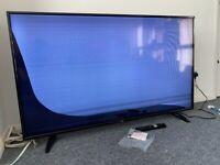 """55"""" smart tv - pixels on screen damaged"""