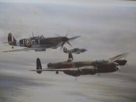 MEMORIAL FLIGHT - Robert Taylor special edition print limited to 1,000.