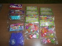 Loom bands 9 packets, assorted