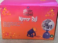 Glitter babes mirror ball and spot light