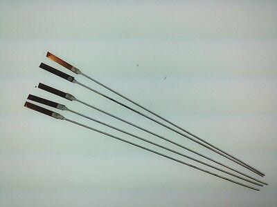 Antique clock repair suspension spring rods set of 5