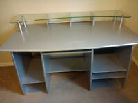Heavy Duty Silver Desk