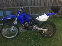 Yz250 2001 starts first kick swap for 4 stroker