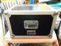 Purpose built flight case containing twin CD players and mixer