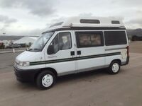 PEUGEOT AUTOSLEEPER SYMPHONY 45,000 MILES FROM NEW-EXCELLENT CONDITION-EXTRAS