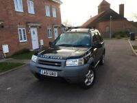 LAND ROVER FREELANDER ES -4X4 -ONLY 2 FORMER KEEPERS -LOW MILES -LONG MOT -FREE DELIVERY-P/X WELCOME