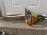PETROL CHAINSAW £45