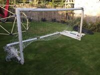 Goal Posts - Harrod Polygoal with carry bag 3m x 2m Five 5-a-Side Football RRP £169.99
