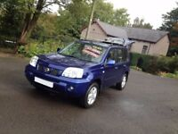 HI SPEC NISSAN X TRAIL 4WD DCI SIX SPEED GEARBOX/IDEAL SIZE 4WD/ALLOYS/TOW PACK WITH ELECTRICS
