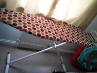 a brand new ironing board