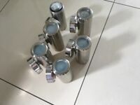 Stainless steel outdoor wall lights