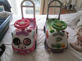 FOR SALE 2 BABY SIT ON WALKERS