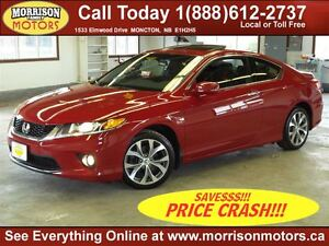 2013 Honda Accord EX Coupe 6 Speed Manual, 42km!