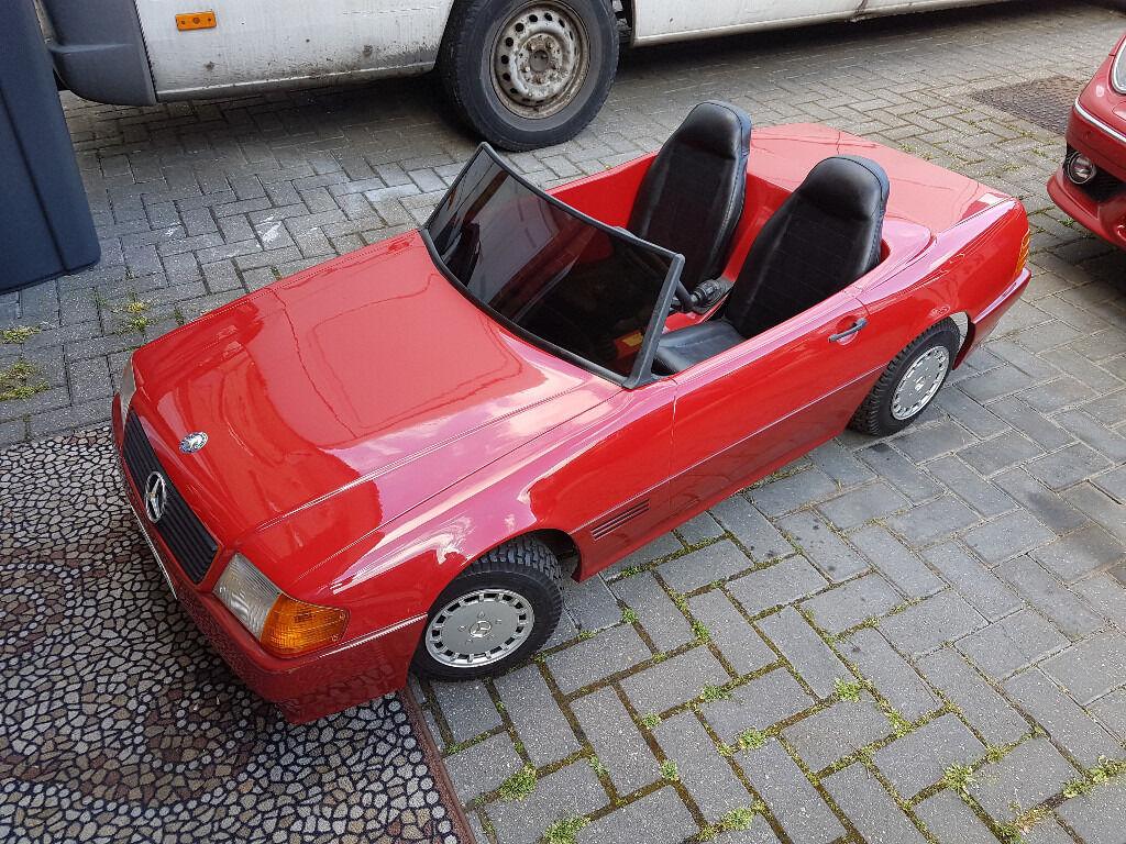 Kids ride on 100cc mercedes benz petrol car sit on for Ride on mercedes benz toy car