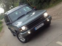 Land Rover discovery TD5 2.5 2003 (53) 12 mot 7 seater