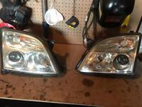 Vauxhall vectra 02-05 headlights