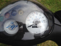 PIAGGIO ZIP 50 2T 2012 SCOOTER FULLY DE-RESTRICTED
