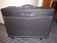 Electric guitar amp , crate VFX 5212 , 50 watt , all value , 2 x12, reverb, built in fx .