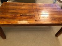 Teak extendable dining table (no chairs)