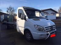 Mercedes Benz sprinter recovery truck