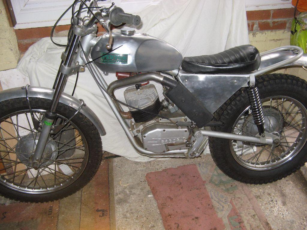 Rare Penton Wassell Sachs 1970s 125cc Trials Bike In Scarborough 1970 Honda Motorcycle