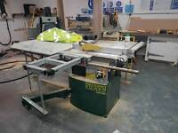 Record table saw