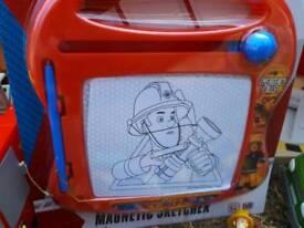 Fireman Sam Magnetic Sketcher