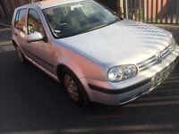 Volkswagen Golf cheap £190ono