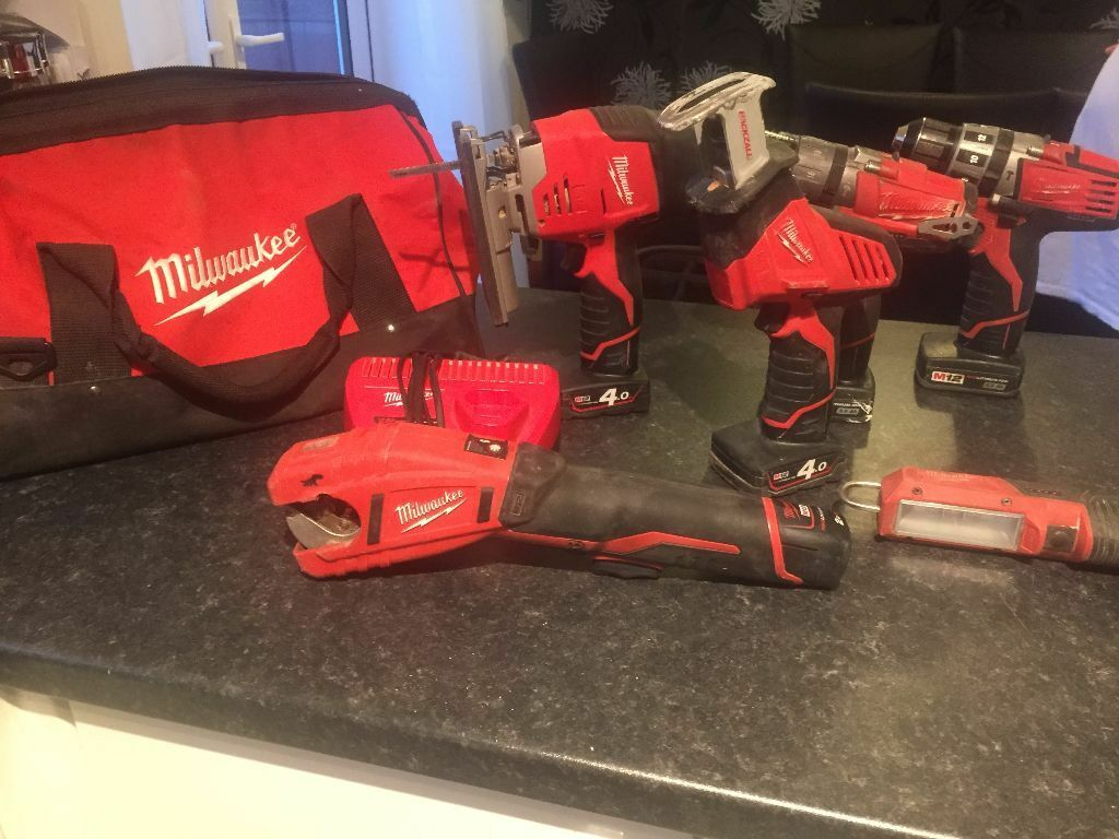 MILWAUKEE M12 6 PIECE COMBI SET USED BUT WORKS PERFECT  : 86 from www.gumtree.com size 1024 x 768 jpeg 113kB