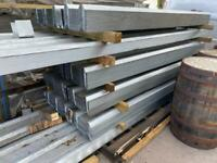 *NEW* GALVANISED BOX PROFILE ROOF SHEETS - DIFFERENT SIZES AVAILABLE
