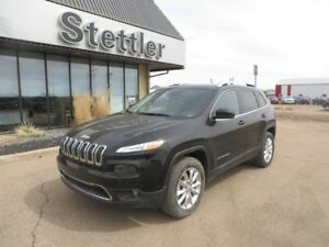 2017 Jeep Cherokee LIMITED 4x4! ADAPTIVE CRUISE! REDUCED!!