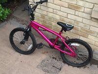 Girls BMX style bike 5 - 9 years